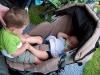 Samen in de kinderwagen