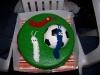 Mijn voetbal taart!