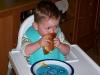 Hamburger eten